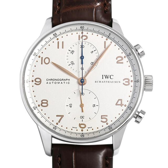 IWC ポルトギーゼ クロノグラフ 金針 IW371401 中古 メンズ