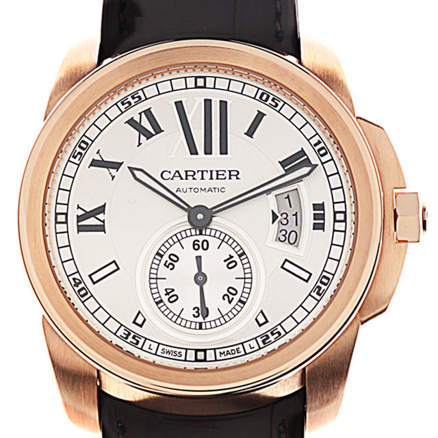 彼氏へのクリスマスプレゼント 高級腕時計 カルティエ カリブル ドゥ カルティエ W7100009