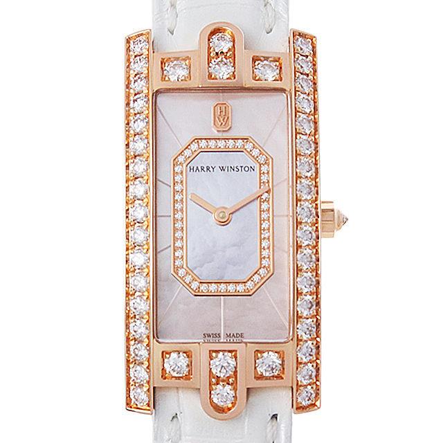 彼女へのクリスマスプレゼント 高級腕時計 ハリーウィンストン アヴェニューC エメラルド AVCQHM19RR037