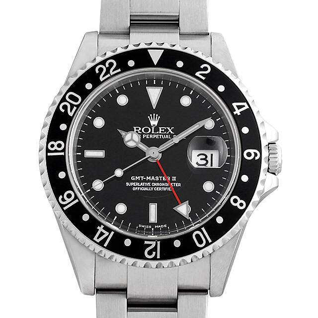GMTマスターII 黒ベゼル 16710 メイン画像