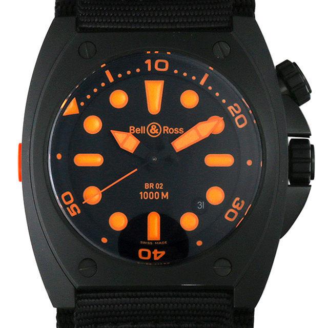 マリーン オートマチック オレンジ BR02-92 ORANGE-R メイン画像