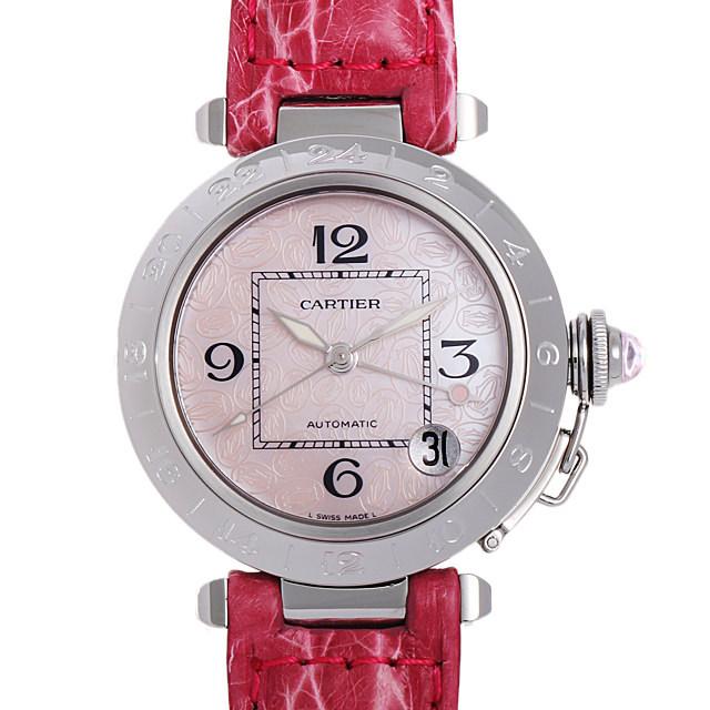 彼女へのクリスマスプレゼント 高級腕時計 カルティエ パシャC メリディアンGMT 2004年クリスマス限定 W3107099