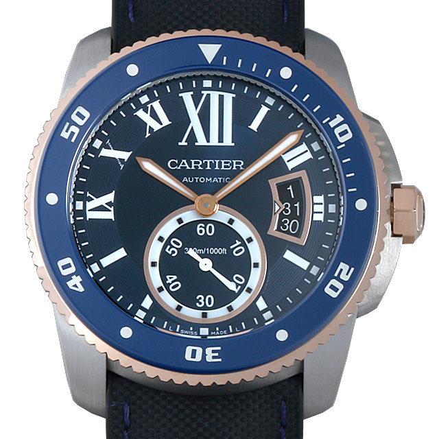 カリブル ドゥ カルティエ ダイバー ブルー W2CA0008 メイン画像