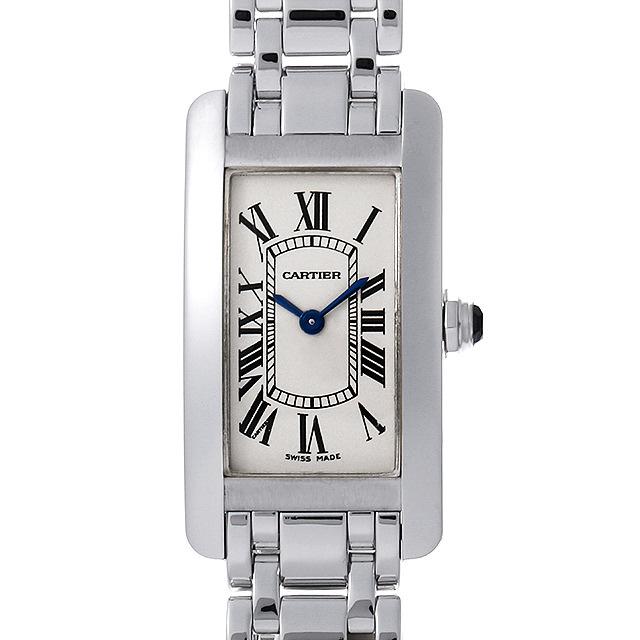 wholesale dealer 7ae8b a618f W26019L1 Cartier(カルティエ) タンクアメリカン SM 中古/中古 ...