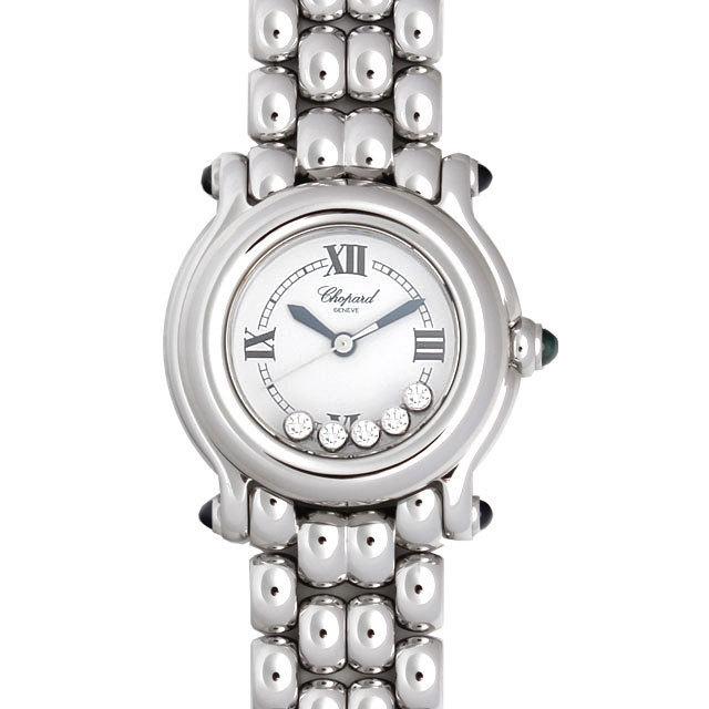 彼女へのクリスマスプレゼント 高級腕時計 ショパール ハッピーダイヤモンド 20/4612