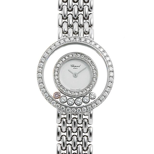 彼女へのクリスマスプレゼント 高級腕時計 ショパール ハッピーダイヤモンド 4119/1