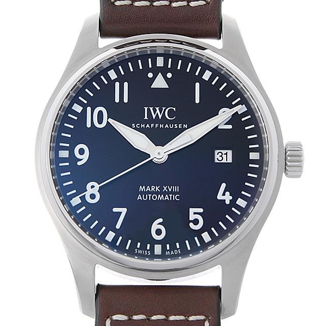 IWC パイロットウォッチ マーク18 アントワーヌ・ド・サンテグジュペリ IW327003 中古 メンズ
