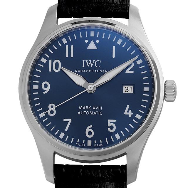 IWC パイロットウォッチ マーク18 プティ・プランス IW327004 中古 メンズ