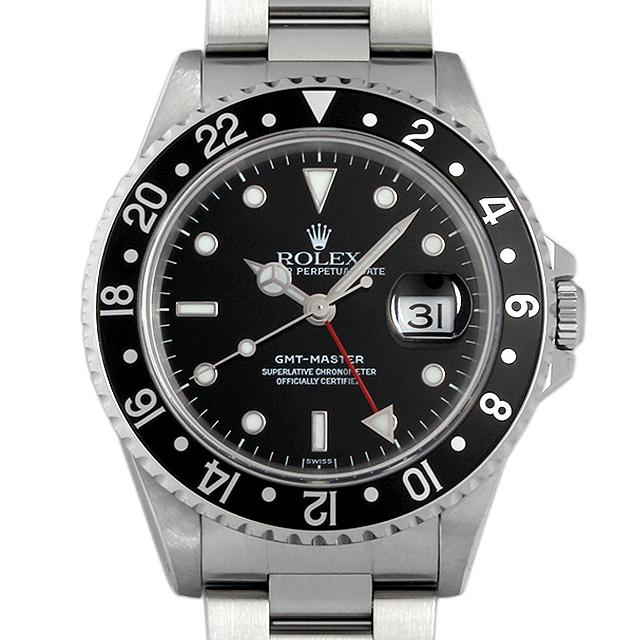 990a57f547 16700 ロレックス(ROLEX) GMTマスター 黒ベゼル 中古品/中古・新品時計の ...