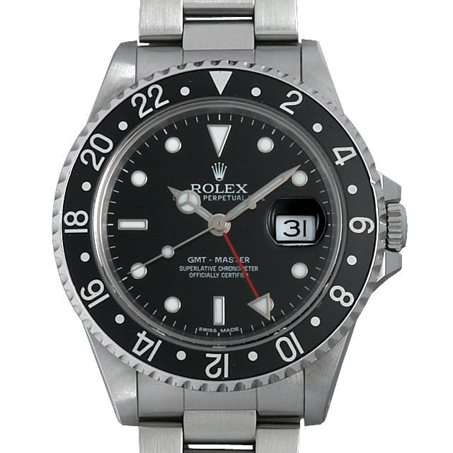 ロレックス GMTマスター 黒ベゼル X番 16700 中古 メンズ