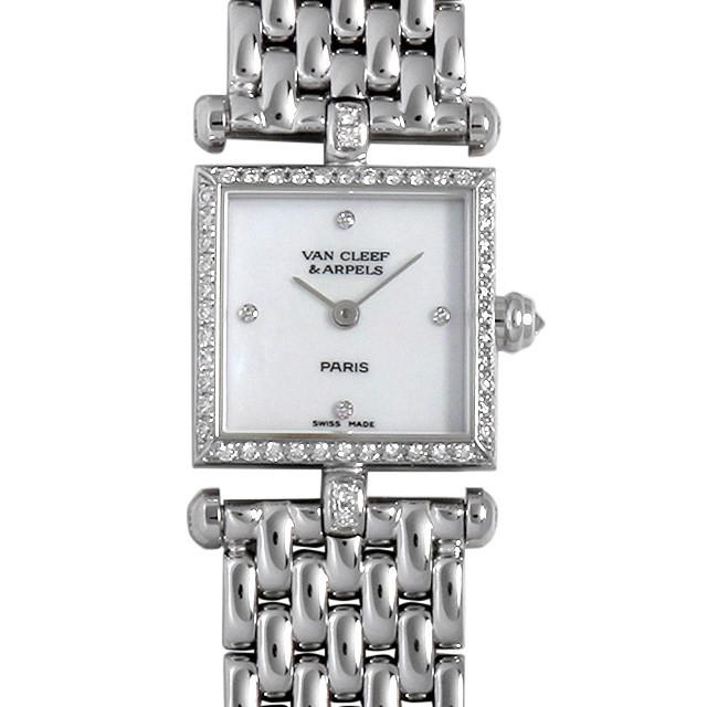 彼女へのクリスマスプレゼント 高級腕時計 ヴァンクリーフ&アーペル クラシック カレ ベゼルダイヤ 322942B1