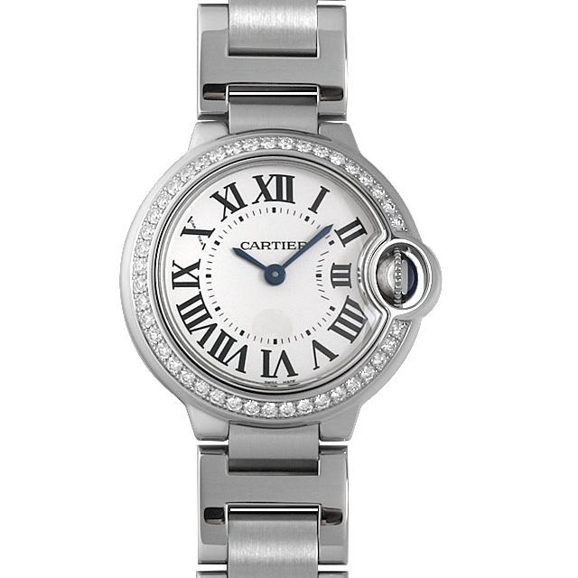 彼女へのクリスマスプレゼント 高級腕時計 カルティエ バロンブルー SM W4BB0015