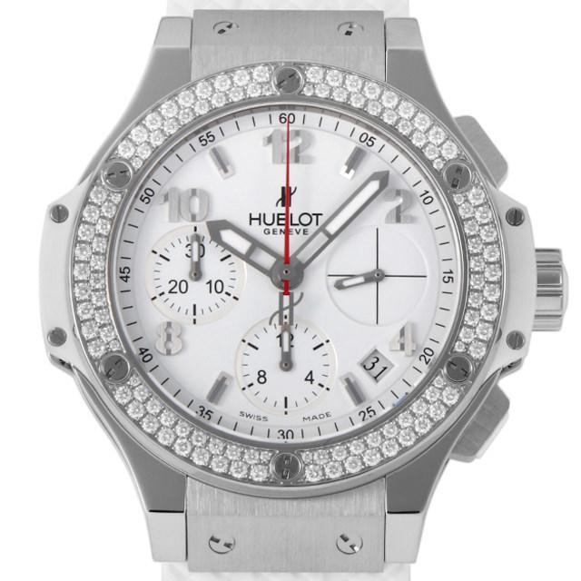 ウブロ ビッグバン スチールホワイト ダイヤモンド 342.SE.230.RW.114