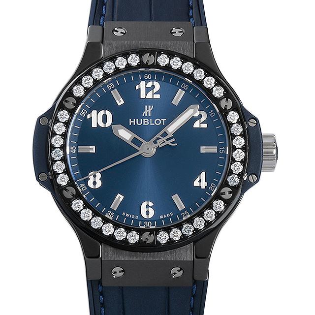 ウブロ ビッグバン セラミックブルー ダイヤモンド 361.CM.7170.LR.1204