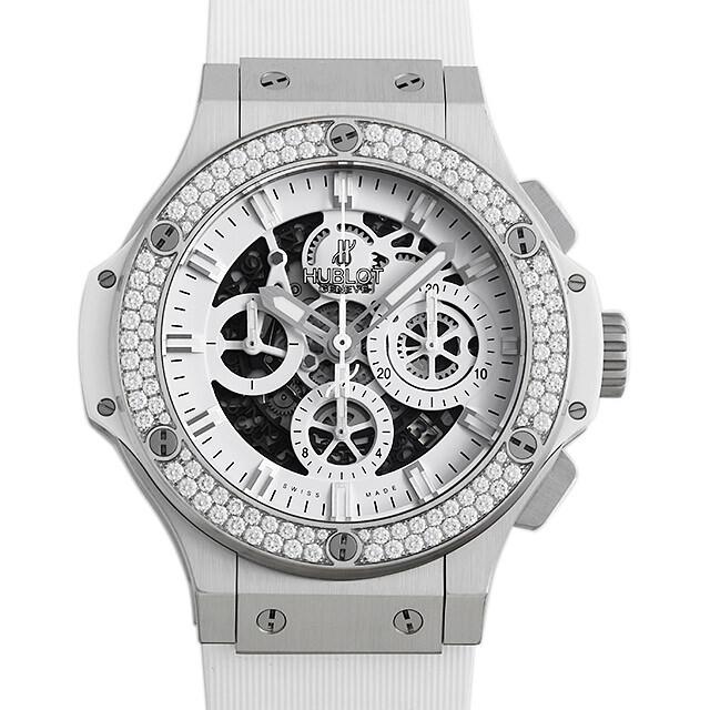ビックバン アエロバン オールホワイト ダイヤモンド 311.SE.2010.RW.1104.JSM12 メイン画像