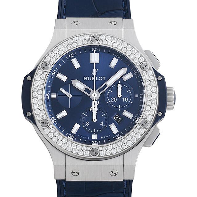 ビッグバン スチール ブルー ダイヤモンド 301.SX.7170.LR.1104 メイン画像
