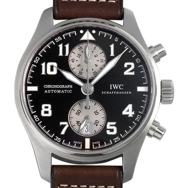 IWC パイロットウォッチ クロノグラフ アントワーヌ・ド・サンテグジュペリ IW387806 中古 メンズ