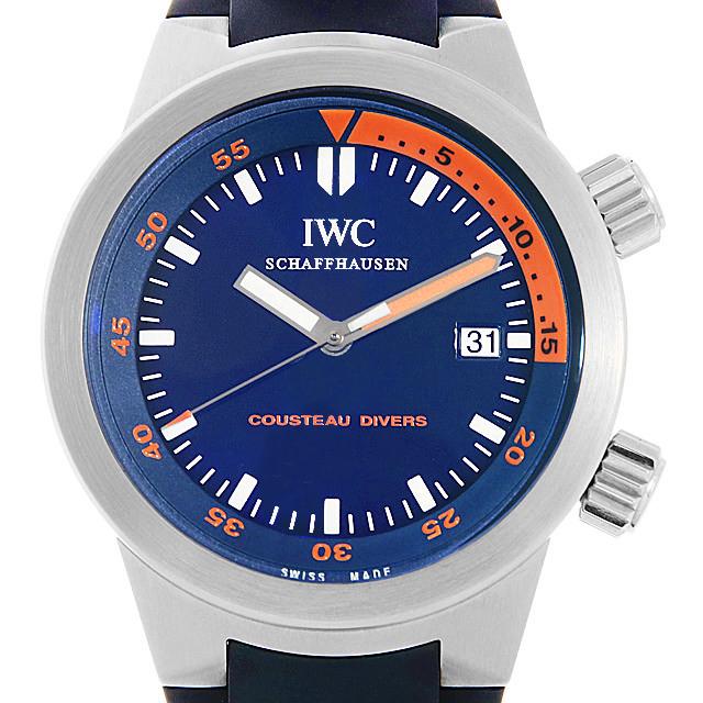 IWC アクアタイマー クストーダイバーズ 世界限定1953本 IW354806 中古 メンズ