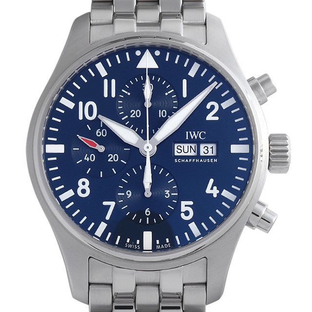 彼氏へのクリスマスプレゼント 高級腕時計 IWC パイロットウォッチ クロノグラフ プティプランス IW377717