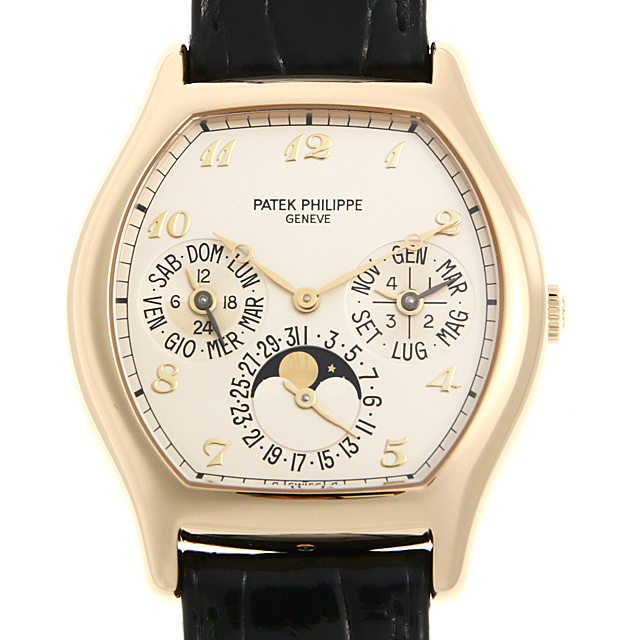 パテックフィリップ パーペチュアルカレンダー 5040J-001 中古 メンズ
