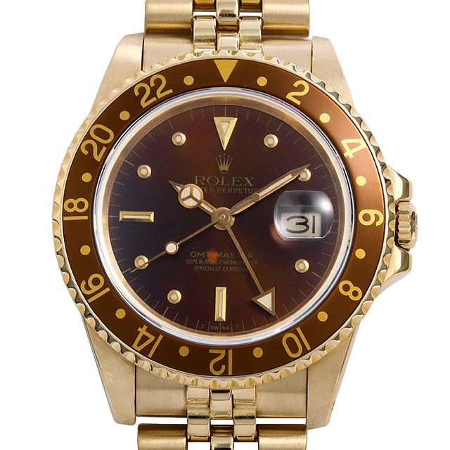 SALE ロレックス GMTマスター 16758 フジツボ 83番 中古 メンズ
