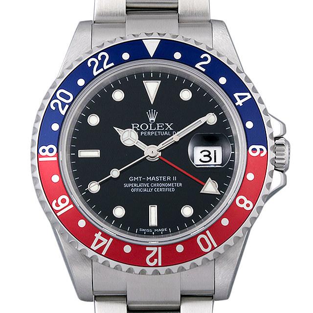 GMTマスターII 赤青ベゼル スティックダイアル 16710 メイン画像
