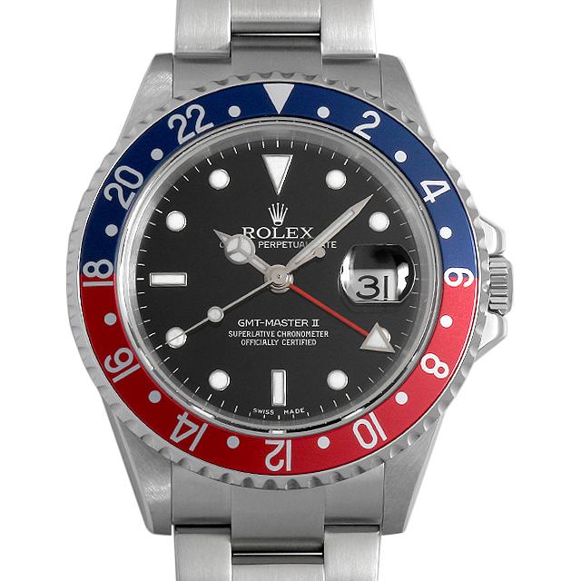 ロレックス GMTマスターII 赤青ベゼル 16710 D番