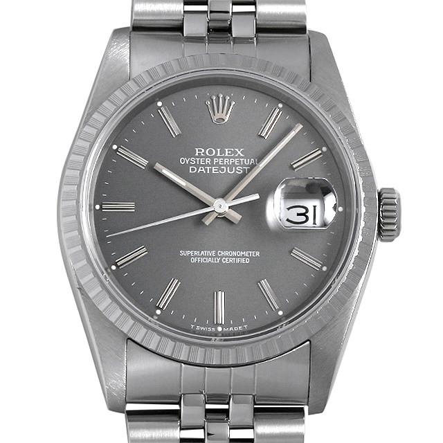 on sale b7545 3e68b 76183 ROLEX(ロレックス) オイスターパーペチュアル グレー ...