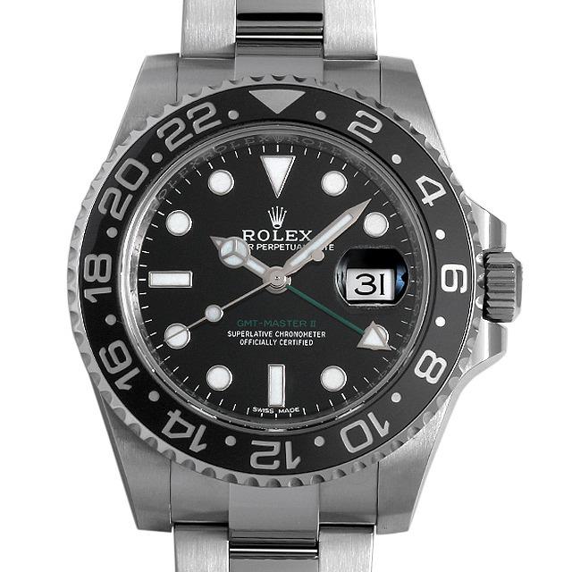ロレックス GMTマスターII 116710LN ランダムシリアル