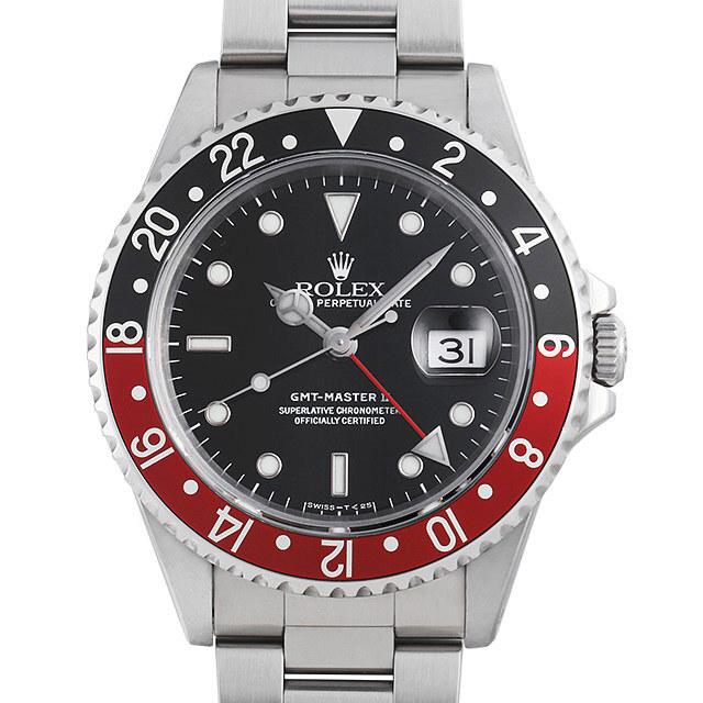 ロレックス GMTマスターII 赤黒ベゼル 16710 U番