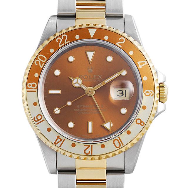ロレックス GMTマスターII 16713 ブラウン S番
