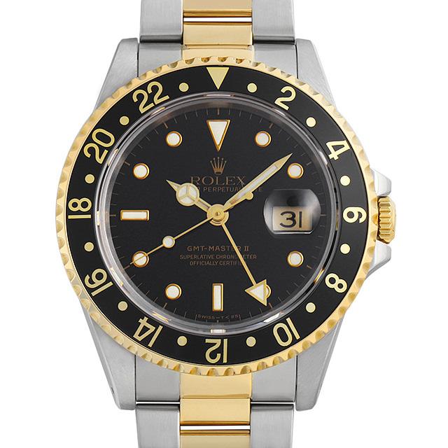 ロレックス GMTマスターII 16713 ブラック E番