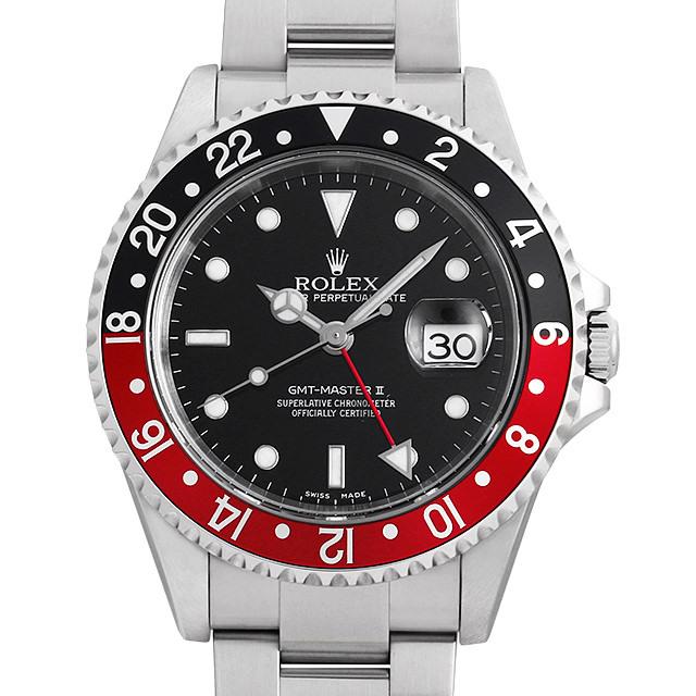 ロレックス GMTマスターII 赤黒ベゼル 16710 F番