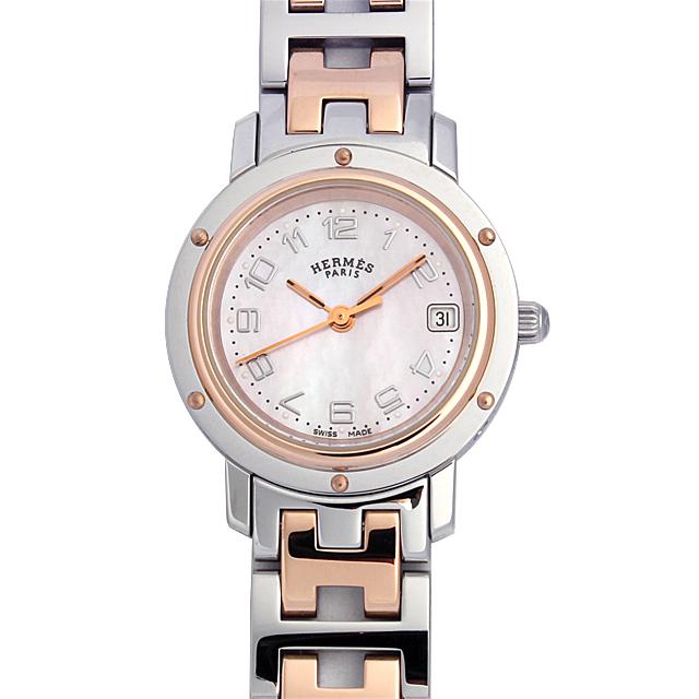 彼女へのクリスマスプレゼント 高級腕時計 エルメス クリッパー CL4.221