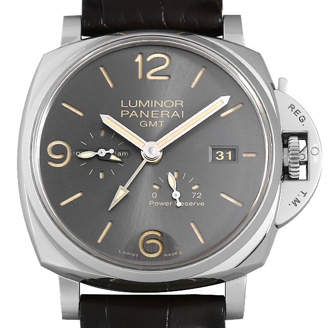ルミノール ドゥエ 3デイズ GMT パワーリザーブ オートマティック アッチャイオ PAM00944 メイン画像