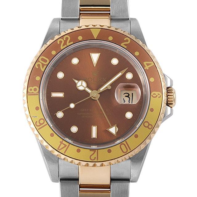 ロレックス GMTマスターII 16713 ブラウン P番