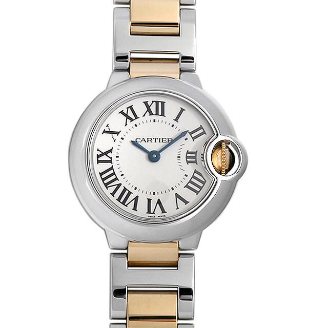 彼女へのクリスマスプレゼント 高級腕時計 カルティエ バロンブルー SM W69007Z3