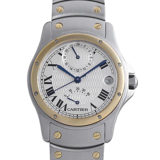 サントス ロンド GMT パワーリザーブ 150周年記念モデル W20038R3 メイン画像
