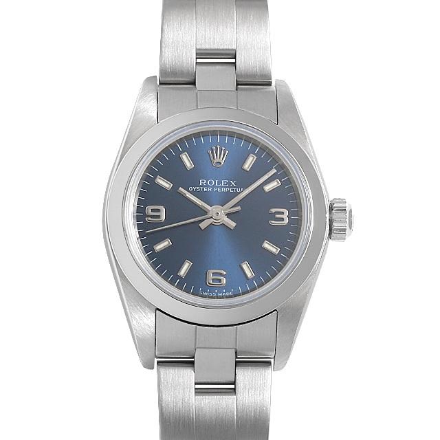 ロレックス オイスターパーペチュアル 76080 ブルー/369 K番