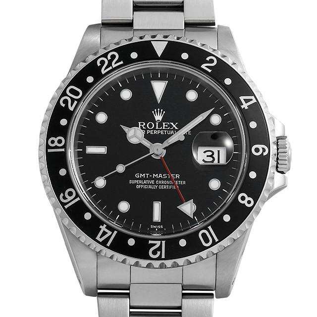 9324c2fb0e 16700 ROLEX(ロレックス) GMTマスター 黒ベゼル 中古/中古・新品時計 ...