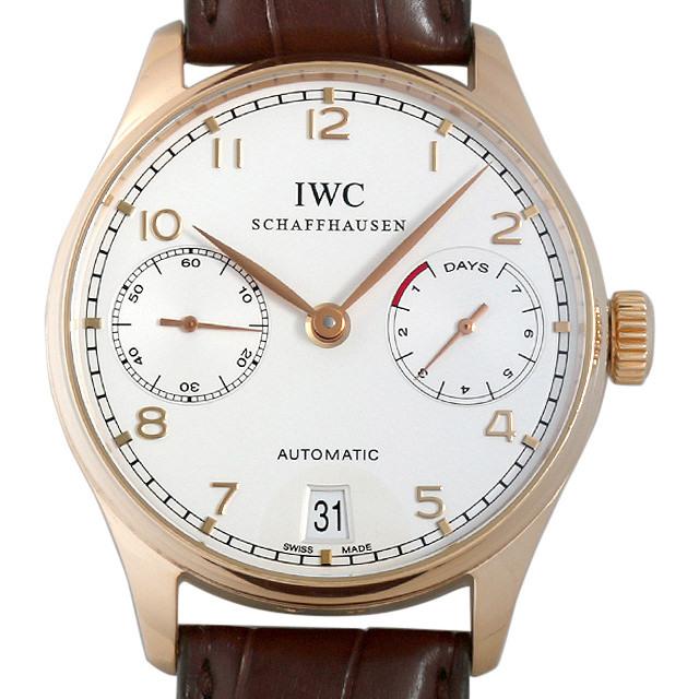 IWC ポルトギーゼ オートマチック 7デイズ IW500101 中古 メンズ