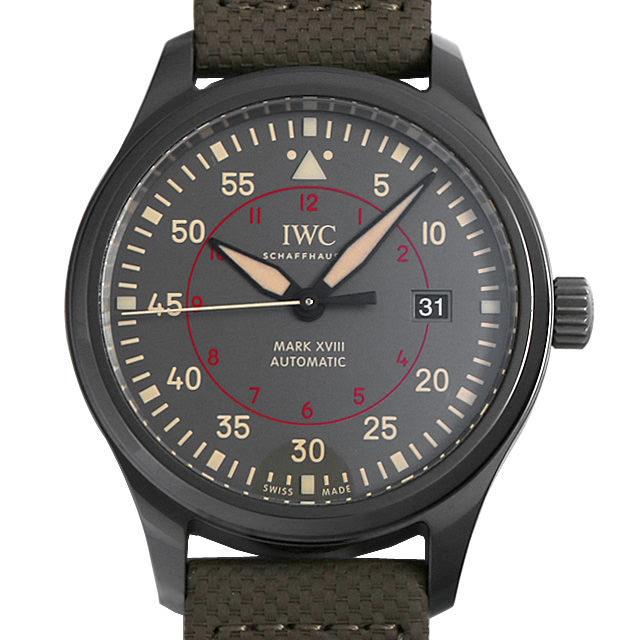 彼氏へのクリスマスプレゼント 高級腕時計 IWC パイロットウォッチ マーク18 トップガン・ミラマー IW324702