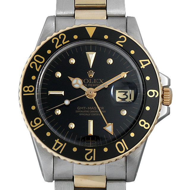ロレックス GMTマスター 38番 1675 フジツボダイヤル アンティーク メンズ