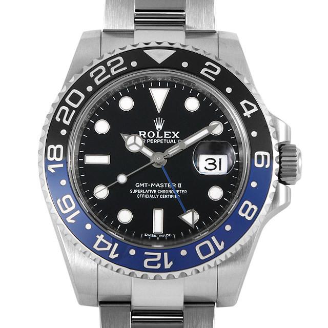 彼氏へのクリスマスプレゼント 高級腕時計 ロレックス GMTマスターII 116710BLNR