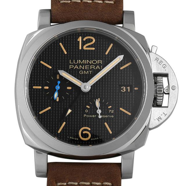 ルミノール1950 3デイズ GMT パワーリザーブ オートマティック アッチャイオ PAM01537 メイン画像