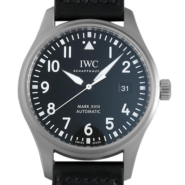 IWC パイロットウォッチ マーク18 IW327001 中古 メンズ