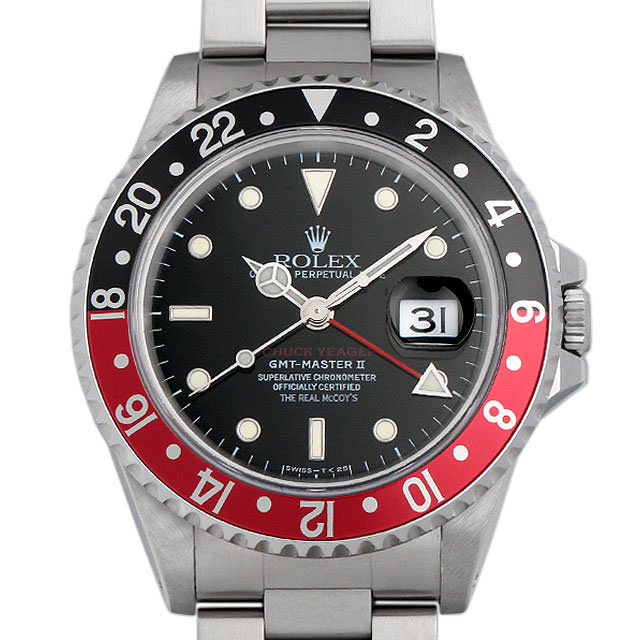 GMTマスターII 赤黒ベゼル チャックイエーガー ファーストモデル 16710 メイン画像