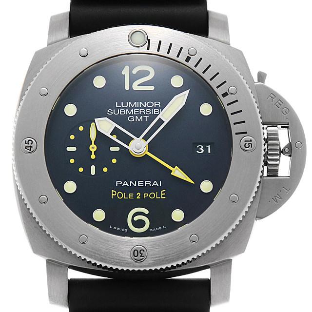 ルミノール サブマーシブル1950 3DAYS GMT オートマティック チタニオ PAM00719 メイン画像