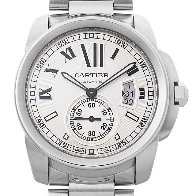 彼氏へのクリスマスプレゼント 高級腕時計 カルティエ カリブル ドゥ カルティエ W7100015