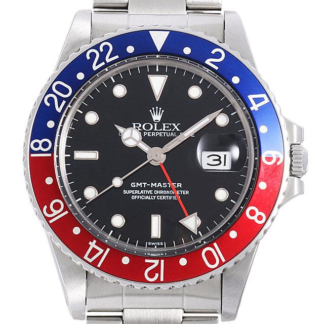 ロレックス GMTマスター 赤青ベゼル 94番 16750 中古 メンズ
